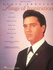 Elvis Presley Songs Of Inspiration Sheet Music Piano Vocal Guitar Song 000308175