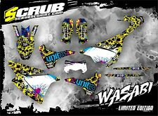 SCRUB Husqvarna graphics decals kit TE 701 2015 - 2017 stickers '15-'17