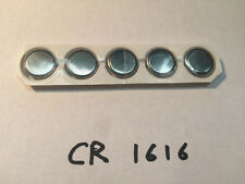 New CR1616 3V 50mAh Lithium Button Coin Battery Batteries Watch Calculator x5