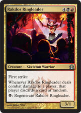 [4x] Rakdos Ringleader - Foil [x4] Return to Ravnica Near Mint, English -BFG- MT