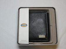ML3615001 Omega Trifold black Men's wallet Fossil credit card ID genuine leather