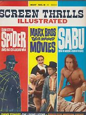 MAY 1964  SCREEN THRILLS ILLUSTRATED movie magazine SPIDER - SABU