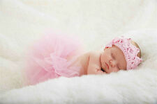 Mud Pie MK6 Princess Newborn Baby Girl Pink Crochet Crown Soft Headband 157A001