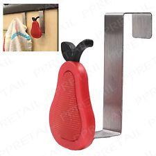 8x Pear Design Hangers +OVER THE CABINET DOOR HOOKS+ Kitchen/Bathroom Storage