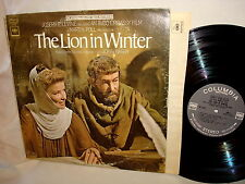 s/t  THE LION IN WINTER/JOHN BARRY/PETER O'TOOLE-COLUMBIA OS 3250 VG/VG+  LP