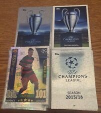 Match Attax Champions League 15/16 COMPLETE SET 26 TEAMS WITH MOTM DUOS S/P