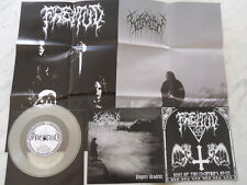 "Freitod / Wacht - SPLIT 7"" EP with two A2 Posters on clear vinyl NEW+++"