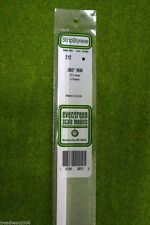 "EVERGREEN STRIP STYRENE WHITE ROD .080"" #212"