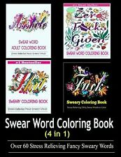Adult Coloring Book: Swear Word Designs by Adult Coloring Books[Paperback] NEW