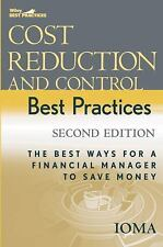 Cost Reduction and Control Best Practices: The Best Ways for a Financial Manager