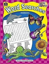 Start to Finish Word Searches Gr 2-3 HOME SCHOOL NEW PAPERBACK FREE SHIP!