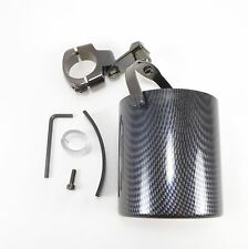 Motorcycle Handlebar Cup Holder Carbon Fiber Look Harley Davidson