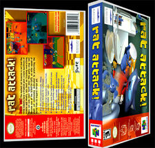Rat Attack  - N64 Reproduction Art Case/Box No Game.