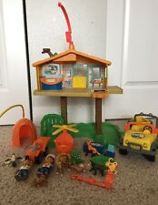 Go Diego Go Talking Rescue Center, Animals Jeep Helicopter 20+ Accessories
