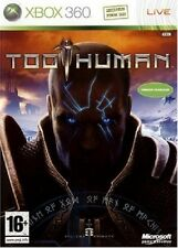 TOO HUMAN                  -----   pour X-BOX 360  ------ TBE