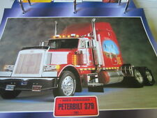 Super trucks sombreritos tractores estados unidos Peterbilt 379, 1991