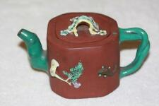 Antique Chinese Yixing Pottery Teapot Signed Lot 551