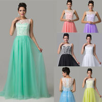 NEW Long Evening Ball Gown Bridesmaid Prom Wedding Formal Party Dress PLUS SIZE