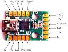 1 x Mini USB Modul UM2102 für Arduino ATMEGA usw.