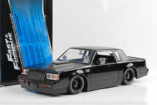 1987 Doms Buick Grand National Fast & and Furious black schwarz 1:18 Jada Toys