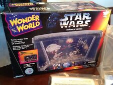 Star Wars 1995 Wonder World Aquarium Battle Scene Play Set