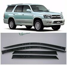 Toyota Hilux Surf 5d 1995-2002 Side Window Visors Sun Rain Guard Vent Deflectors