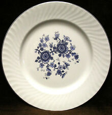 "1 Wedgwood & Co, Ltd ROYAL BLUE 10"" Dinner Plate IRONSTONE Made in England"