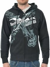 Fox Racing X-Fighters Exposed Zip Hoodie Black Size S BNWT RRP £54.95