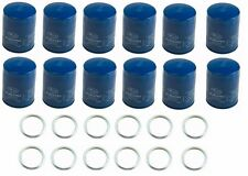 Set of 12 Genuine Oil Filter 15208AA160 & 12 Gasket Fits: Subaru Legacy Forester