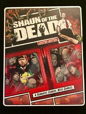 Shaun of the Dead Steelbook (Blu-ray/DVD, 2013, 2-Disc Set, DC, UV) MINT!