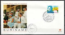 Suriname - 1969 15 years Statute for the Kingdom (1) - Clean unaddressed FDC!