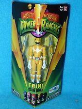"Mighty Morphin POWER RANGERS RANGER GIALLO Legacy 5"" Action Figure Nuovo con Scatola"