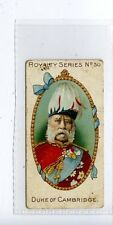 (Jc6335-100)  GALLAHER,ROYALTY SERIES,DUKE OF CAMBRIDGE,1902,#