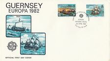 (96817) CLEARANCE GB Guernsey FDC EUROPA 28 April 1982