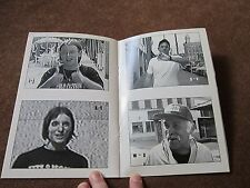 Auburn NY John Beer Terry Cuddy signed book  B&W Photos downtown poetry fiction