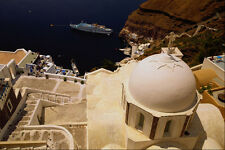 571005 Fira Santorini Greece A4 Photo Print