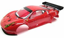 Kyosho Inferno GT2 RTR BODY SHELL Red Ferrari pre-painted complete Italia 458 VE