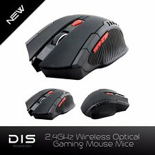 6 Button 2.4Ghz Wireless Optical Gaming Mouse Mice For Windows and Mac AU Stock