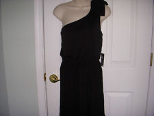 NWT EXPRESS BLACK ONE SHOULDER DRESS size X-Small