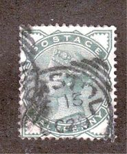 Great Britain 78 - Queen Victoria Half Penny. Used.   #02 GB78b