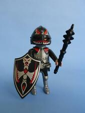 Playmobil Dark Knight Red Black & Silver Weapon & Shield  - Jousting Castle