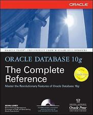 Oracle Database 10g: The Complete Reference Osborne ORACLE Press Series