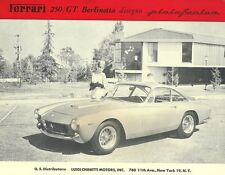 Vintage & Rare 1963 Ferrari 250 GT Berlinetta Ad Better Than Original Print