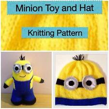 KNITTING PATTERN - Minion Hat and Toy