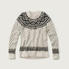 NWT Abercrombie & Fitch Women's Fair Isle Sweater, size L, 150-490-0660-109
