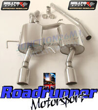 Milltek Clio 182 Exhaust System Stainless Cat Back Non Resonated - Louder 2004