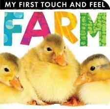 My First Touch and Feel: Farm (2013, Board Book)