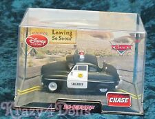 Disney Cars Diecast Sheriff Chase Edition Car New in Collector 's Case!
