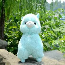 """Fresh"" Alpacasso Blue Alpaca 45cm Plush Amuse Arpakasso Fluffy Toy Gift"