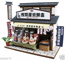 Doll House Handmade kit Japanese Retro Store [Senbei Shop] Billy Japan